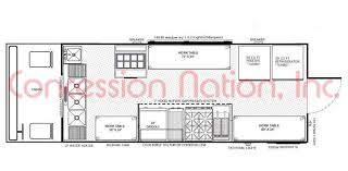 Bakery Floor Plan Design Floorplans Food Trucks Fast Food Truck Mobile Kitchens
