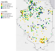 Aurora Illinois Map by Illinois Soil Fertility Update Encirca Sm Fertility Service