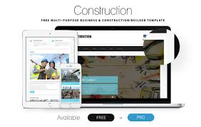 federal resume builder 80 best responsive bootstrap html5 website templates 2017 uideck construction multi purpose construction template
