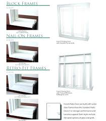 Framing Patio Door Best Door Repair Kit Medium Size Of Patio A Patio Door