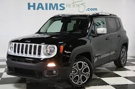 jeep renegade used 2017 used jeep renegade limited fwd at haims motors