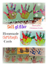 glittering hand prints cards our blog kids play box