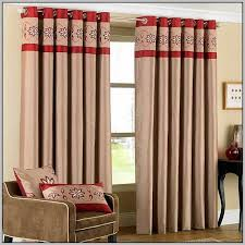 beige red curtains tartan and iboo info