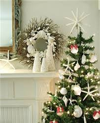 Twig Tree Home Decorating 32 Beach Christmas Décor Ideas Digsdigs