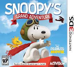 amazon snoopy u0027s grand adventure nintendo 3ds activision