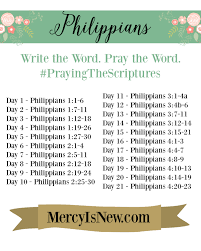 philippians write the word free printable schedule best of his