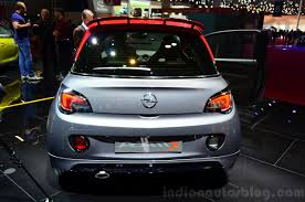 opel paris opel adam s rear at the 2014 paris motor show indian autos blog