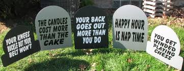 tombstone cost yard card the hill wacky phrase tombstones lawn