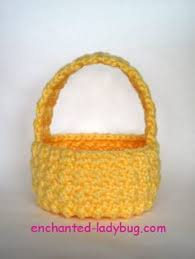 Easter Decorations Pdf by Free Crochet Easter Basket Patterns Free Crochet Lalaloopsy