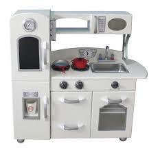 white play kitchen 1 piece kitchen by teamson fantasy fields