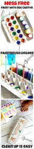 mess free painting with egg carton egg cartons egg and cleaning