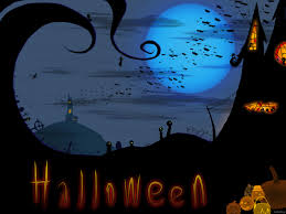 blue halloween background cute disney halloween backgrounds wallpaper wallpaper hd