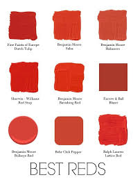 red paint when people ask me what my least favorite color is to paint walls i