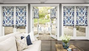 Roman Shade With Curtains Custom Fabric Roman Shades In Limitless Styles And Fabrics Only
