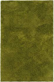 Green Modern Rug Solid Color Area Rugs Woodwaves