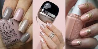 blush colored nail looks pale pink nail ideas