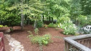 mulch composite river rock