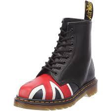 classic dr martens union jack 8 eye mens boots no tax