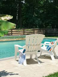 Pool Patio Furniture by Summer Outdoor Living Tour The Greenspring Home