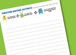 creative writing activity worksheet super easy storytelling