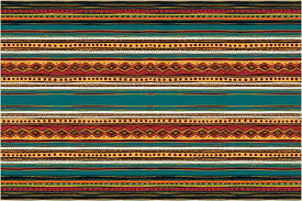 Indian Area Rug American Indian Tribal Pattern Area Rug Western Bedding Decor