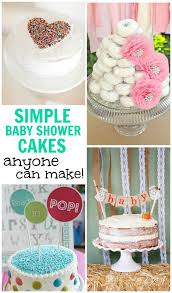 simple baby shower best 25 simple baby shower cakes ideas on baby cakes