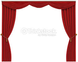 red curtains isolated stock photo thinkstock