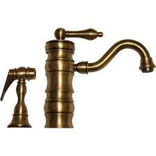 whitehaus whveg3 1098 ab vintage iii antique brass one handle with