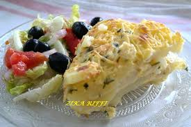 recette de cuisine facile et rapide algerien gratin de pommes de terre sauce a la crème sans œufs cuisine de zika