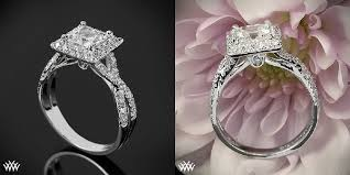 square engagement rings with halo top 10 designs for princess cut halo engagement rings images