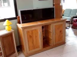 meuble tv caché meuble tv escamotable ranger votre ecran auboismassif