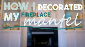home goods hobby lobby fireplace mantel decor youtube