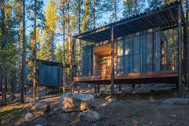 Small Cabin In The Woods by 14 Prefab Micro Cabins In Colorado Woods Showcase Student Design