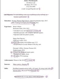 Working With Children Resume Download How To Make A Resume For Teens Haadyaooverbayresort Com