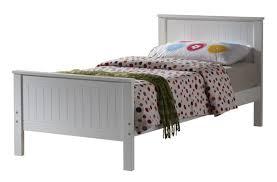 joseph larissa 3ft single white wooden bed frame by joseph
