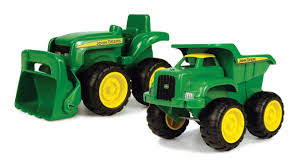 britains 42952 john deere sandbox tractor u0026 dumper farm toys online