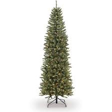 fraser fir christmas tree puleo international 7 5 pre lit fraser fir pencil tree artificial