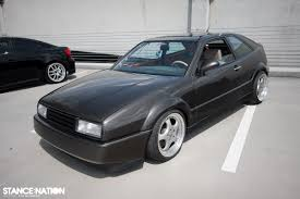 volkswagen corrado stance insane stance and offset meet coverage photos update