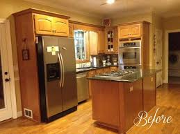 kitchen renovations with oak cabinets diy kitchen remodel on a budget savvy apron
