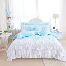 online get cheap white lace edged bedding aliexpress com