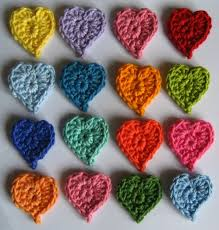 Tiny Flower Crochet Pattern - attic24 teeny tiny hearts