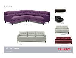 Palliser Juno Ikea Microfiber Sectional Crescendo Details Palliser Furniture