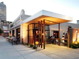 Restaurant Decor Ideas by Charming Exterior Restaurant Design H16 For Your Home Interior