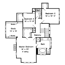 tudor style house plan 3 beds 2 50 baths 2150 sq ft plan 410 213