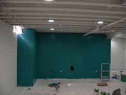 basement wall painting ideas home design planning wonderful at