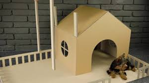 how to make an amazing puppy dog house from cardboard boodwa