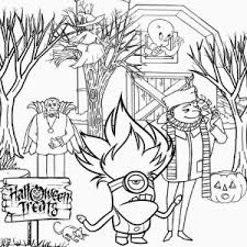 eyed minion coloring pages 17256 print eye minion