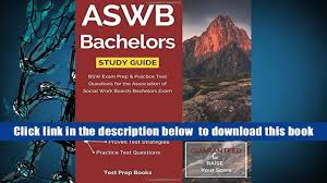 free download aswb bachelors study guide bsw exam prep practice