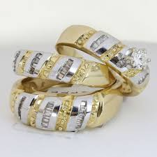 wedding rings trio sets for cheap 18 best wedding trio ring images on rings engagement