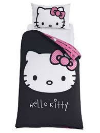 Eeyore Duvet Set Friday Competition Win A Cute Hello Kitty Duvet Set From Argos